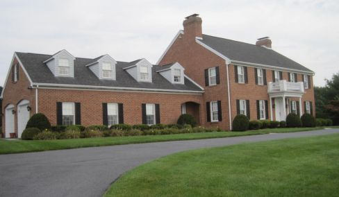 5,159 Living Sq. Ft Brick Traditional House, 3 acres, Pool