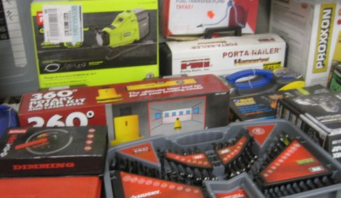 New tools in box - Wood working, Mechanics, Maintenance tools