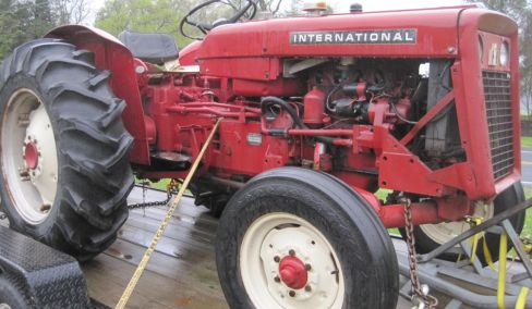 International Harvester Tractor, Honda Generator, Furniture