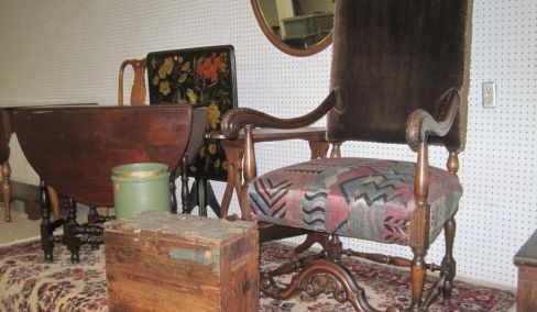 Furniture, Tools, Antiques