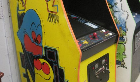 Pac man Arcade, Antiques, Furniture, Household