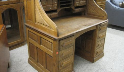 Oak Furniture, Drysink, Household and antiques