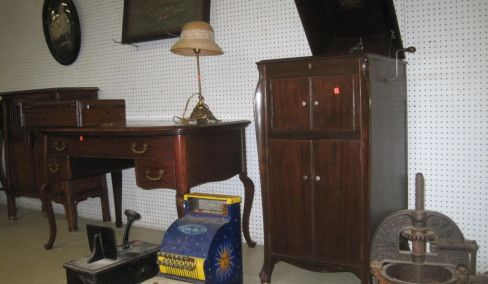 Antiques, Furniture, tools, Household